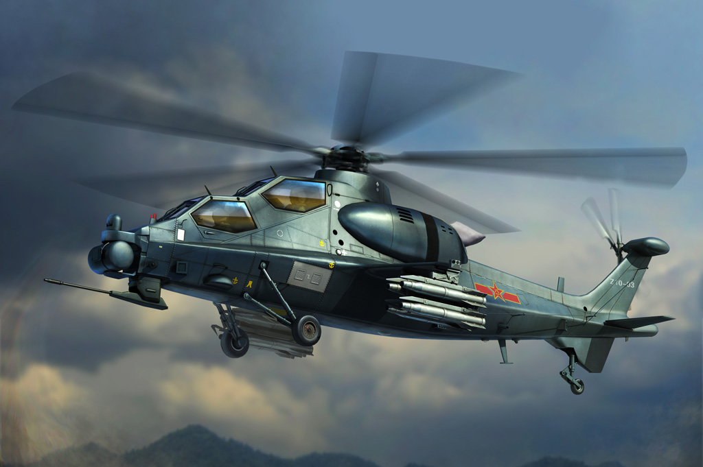 Chinese Z-10 Attack Helicopter  87253