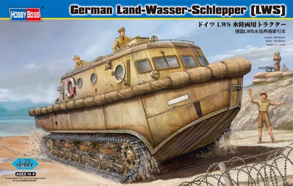 German LWS amphibious tractor Early production  82430