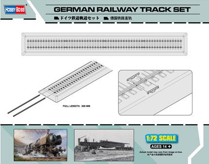 German Railway Track set  82902