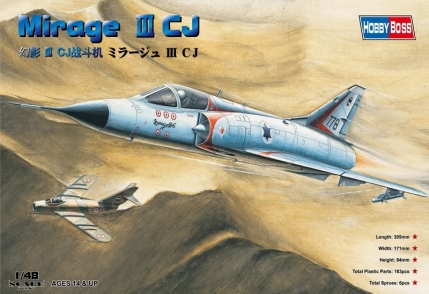 Mirage IIICJ Fighter  80316