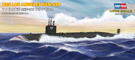 USS Los Angeles SSN-688 attack submarine  87014
