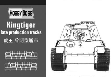Kingtiger  late production tracks 81002