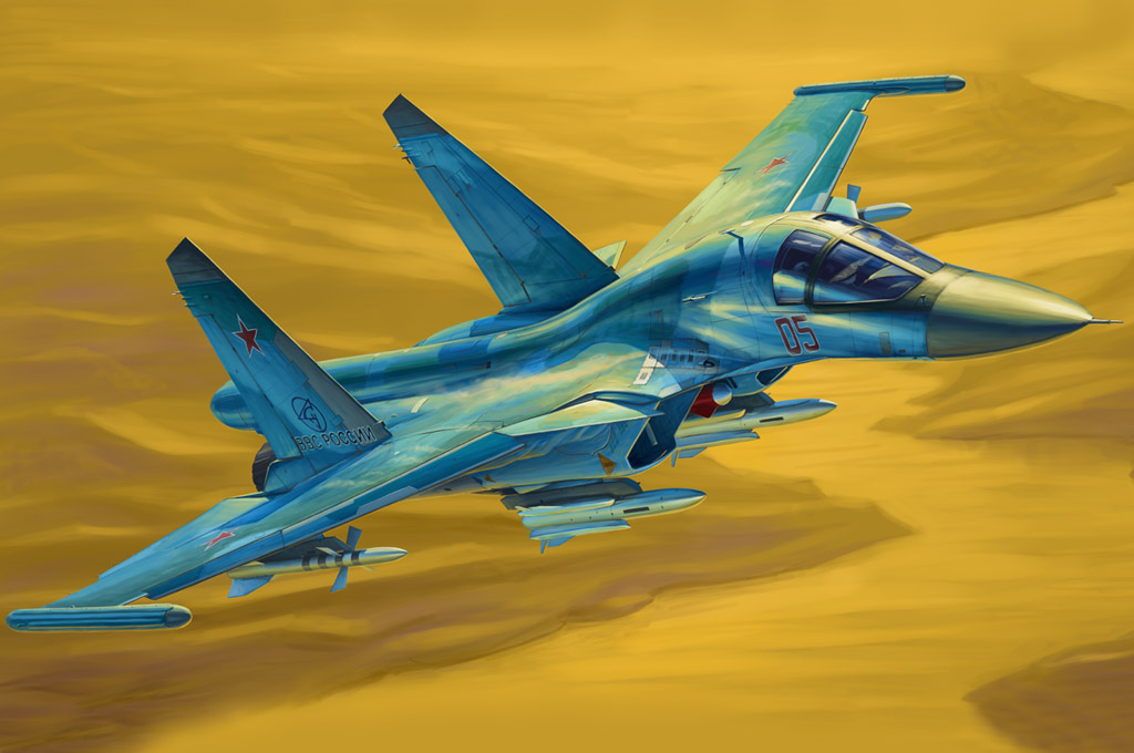 Russian Su-34 Fullback Fighter-Bomber 81756
