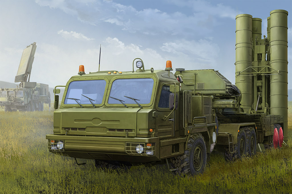 Russian BAZ-64022 with 5P85TE2 TEL S-400 85517