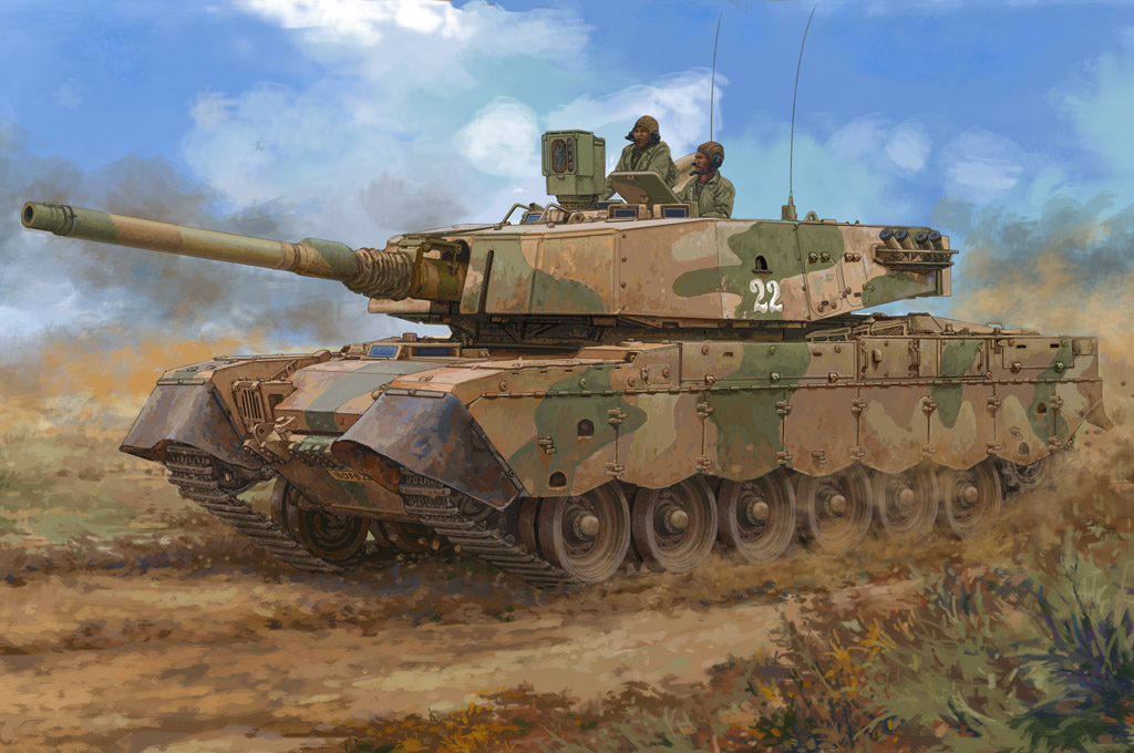 South African Olifant MK1B MBT 83897