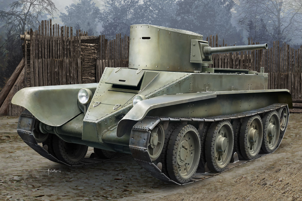 Soviet BT-2 Tank(early) 84514