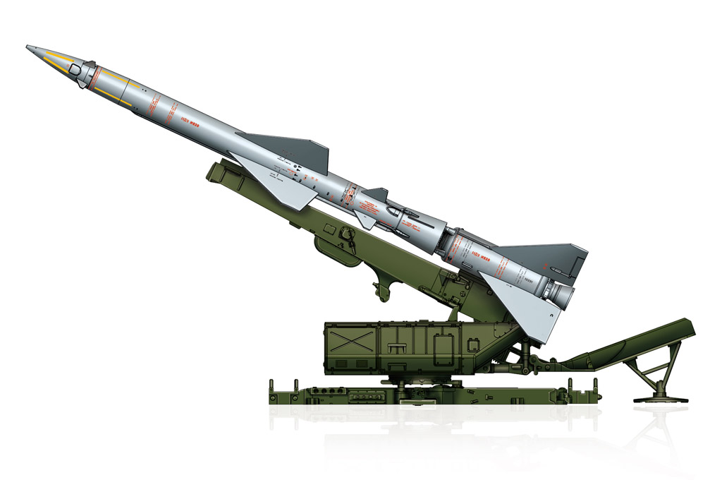 Sam-2 Missile with Launcher Cabin 82933