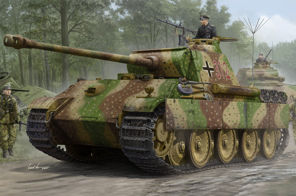 German Sd.Kfz.171 Panther Ausf.G - Early Version 84551